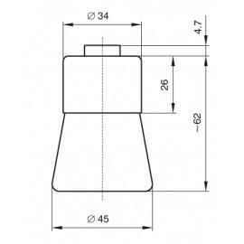 OBJIMKA E27 M10X1 /1332-837